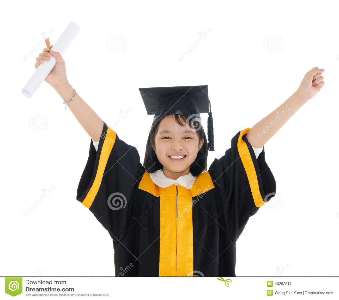 Graduate stock image. Image of graduating, gown, people - 43292317