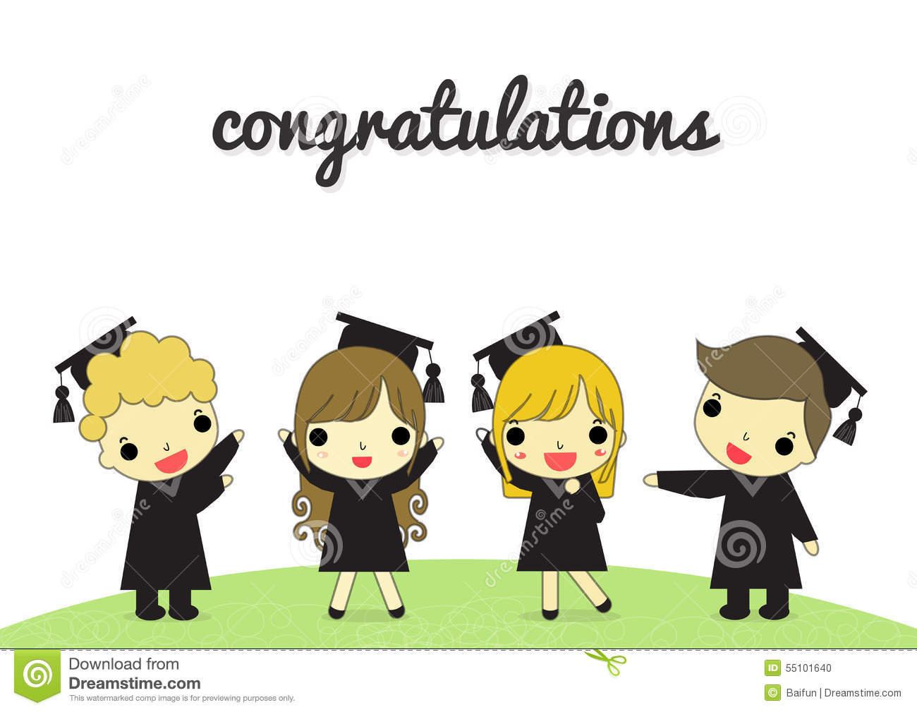 More similar stock images of ` Graduate and congratulation isolate `