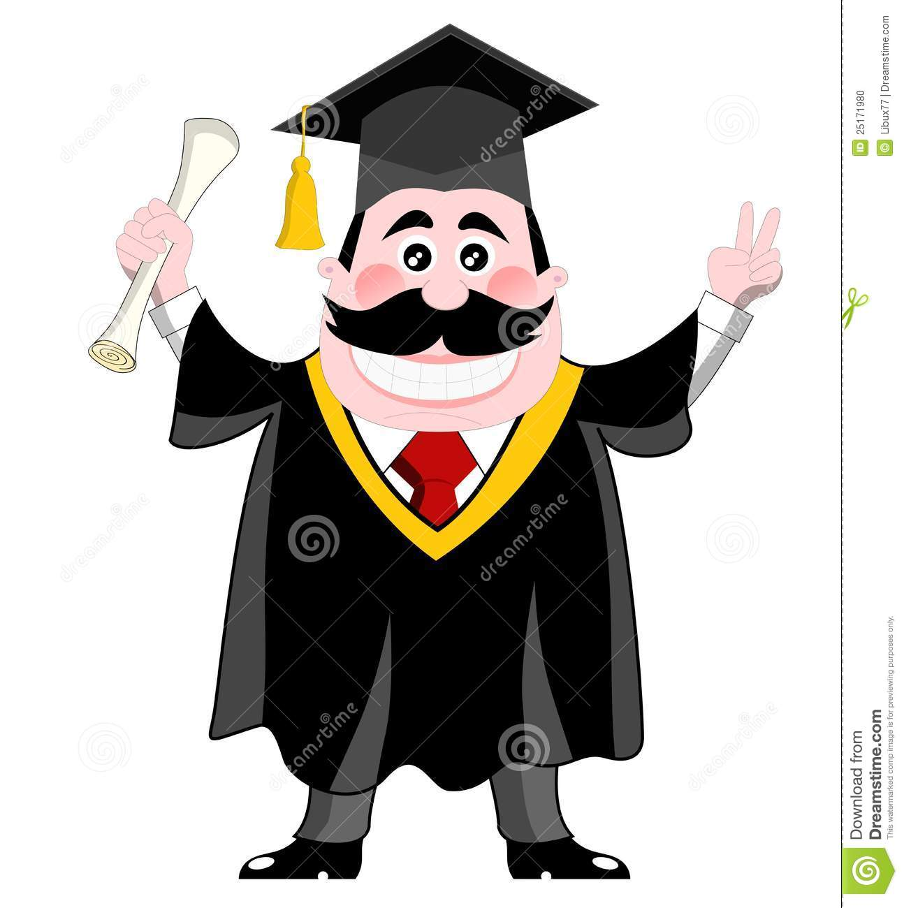 Graduation Gown Cartoon - 2018 images & pictures - Happy student ...