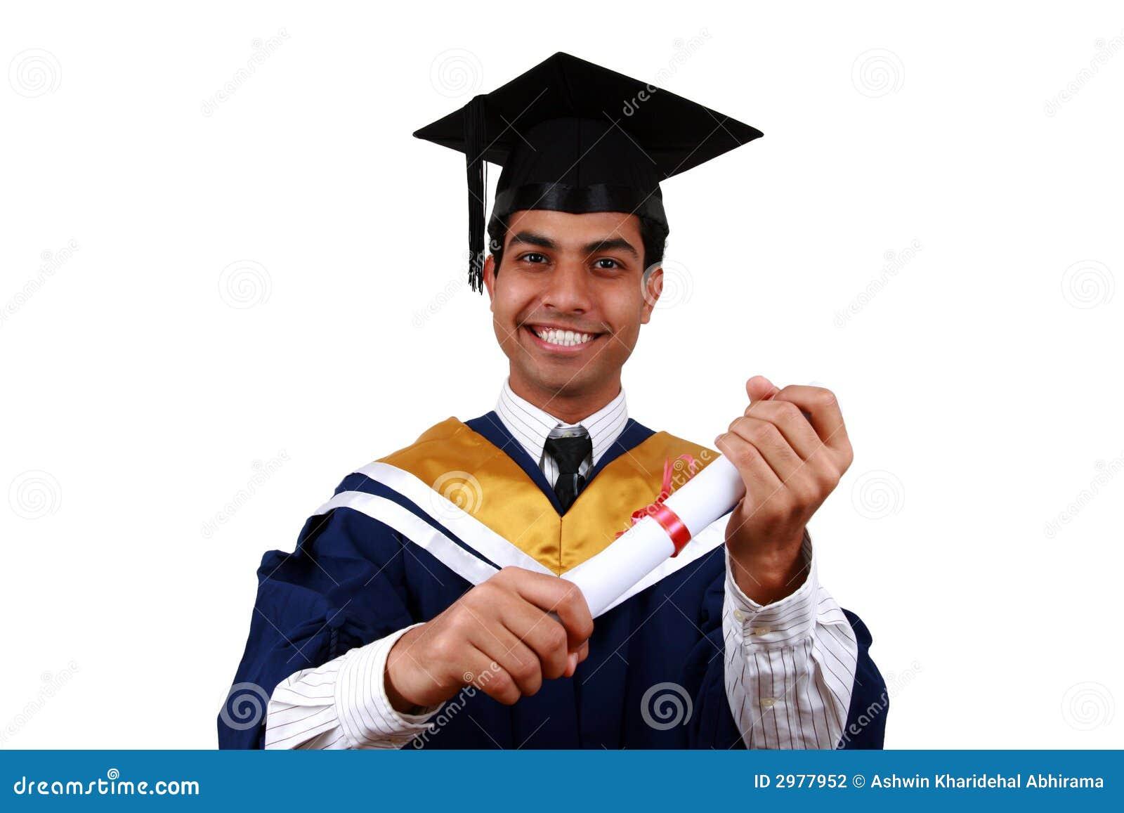 Graduation avec le chemin de découpage