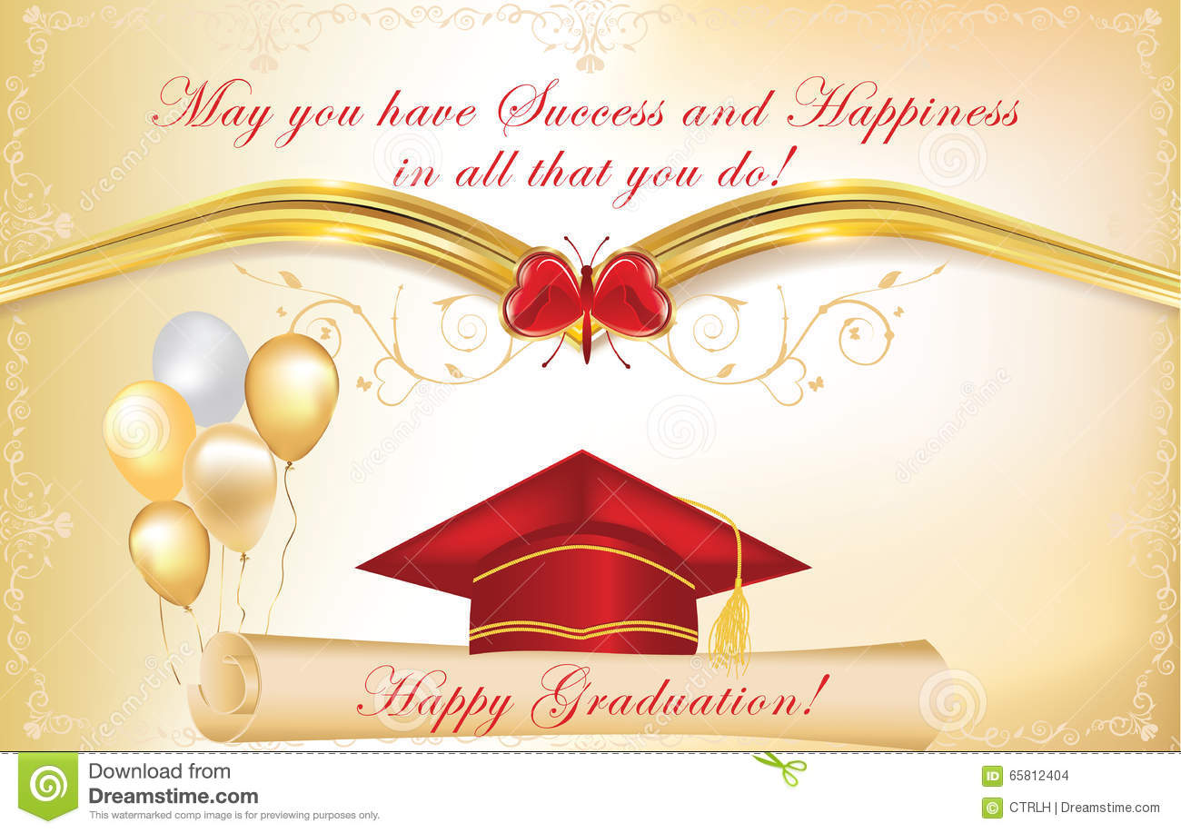 graduation background  also for print  stock vector