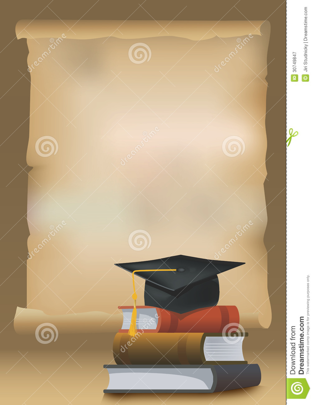 Graduation Background Royalty Free Stock Photography - Image: 30749847