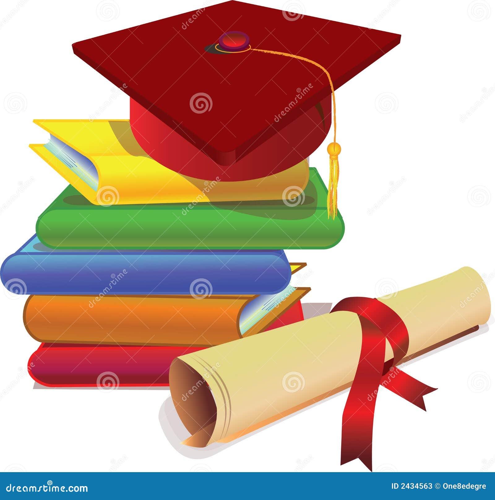 Graduation cap and degree