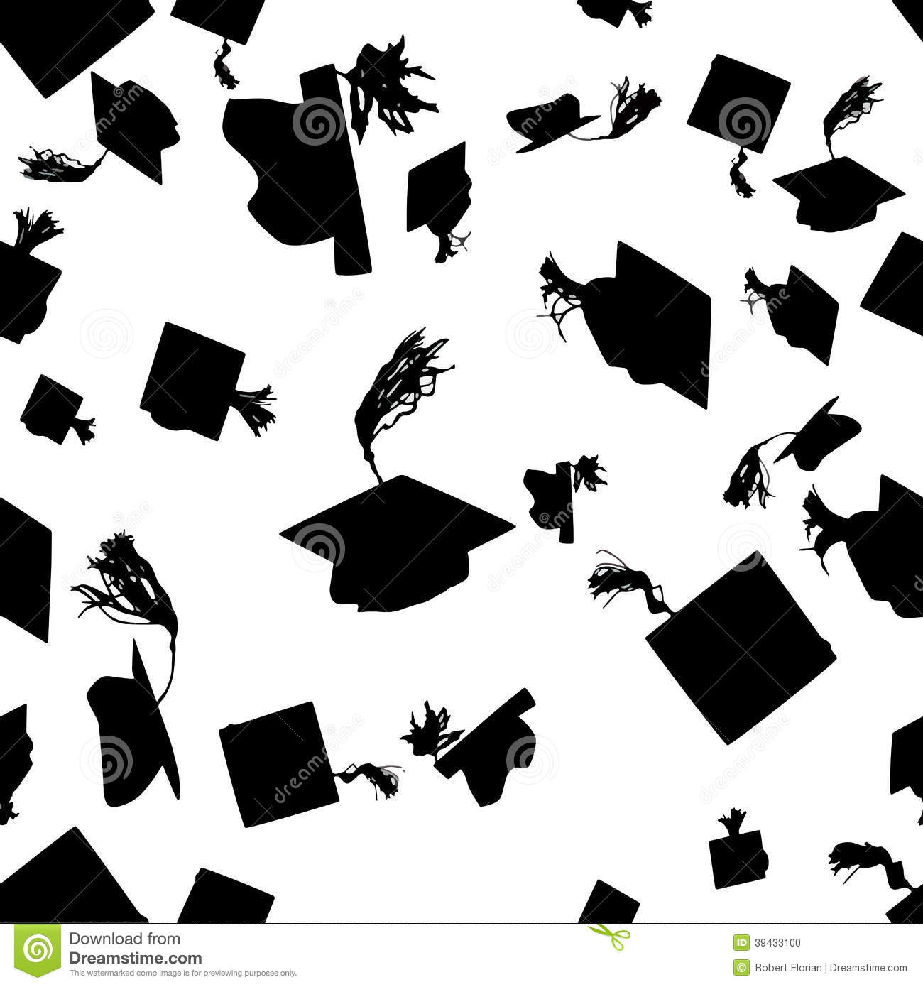 Graduation Hat Silhouette Stock Photos – 279 Graduation Hat ...