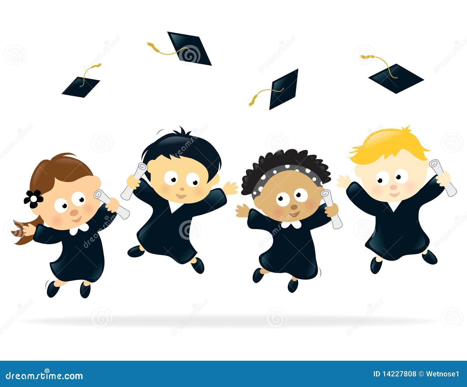 Graduation Celebration Stock Vector Illustration Of