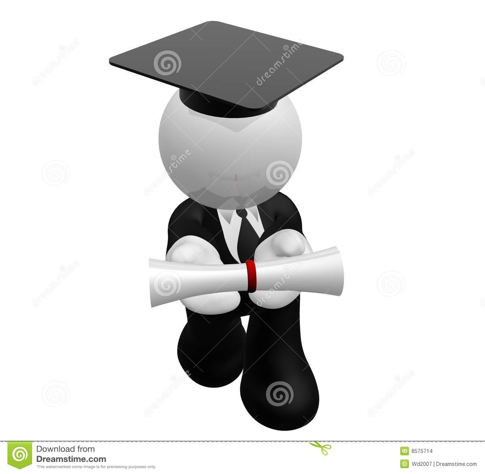 Graduate presentation custom