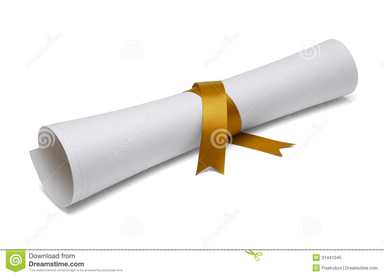 graduation diploma stock image image of isolated concepts 31441045