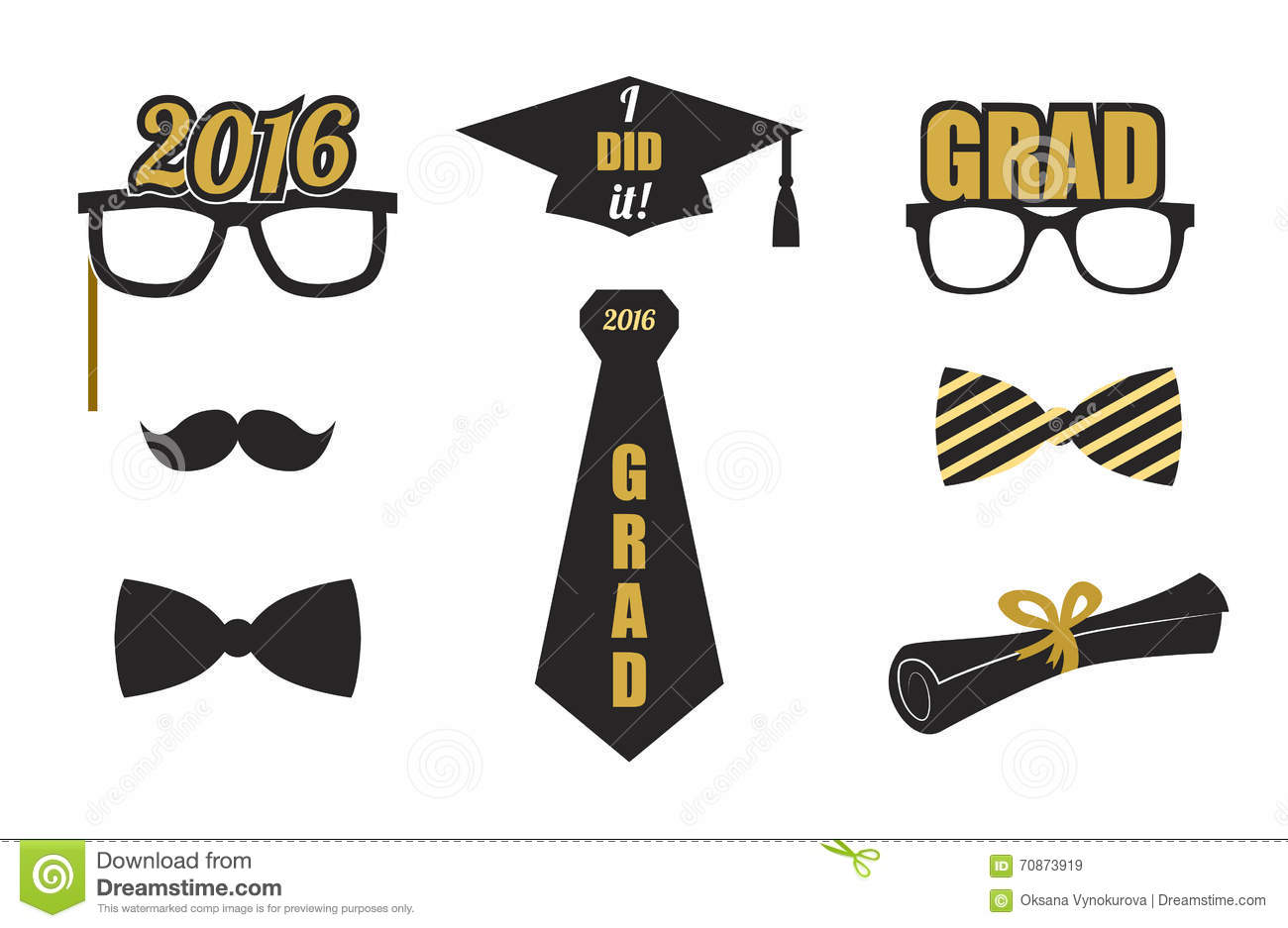 gold party vector - photo #7