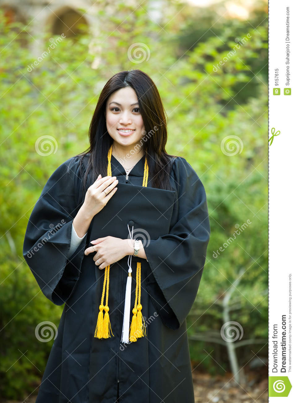 Graduation Girl Royalty Free Stock Photo Image 9157615