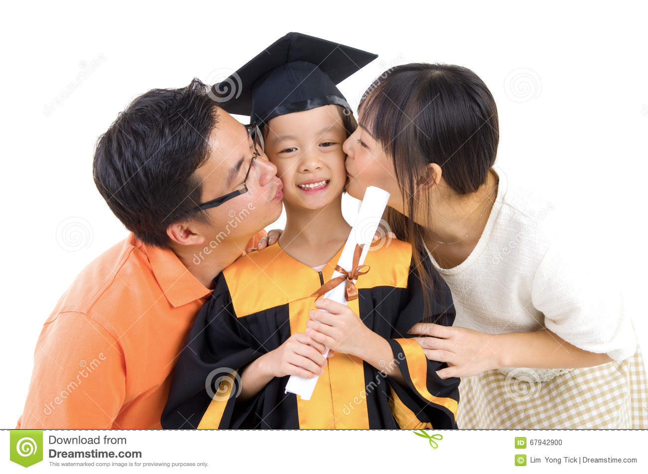 Graduation kid stock photo. Image of concept, chinese - 67942900