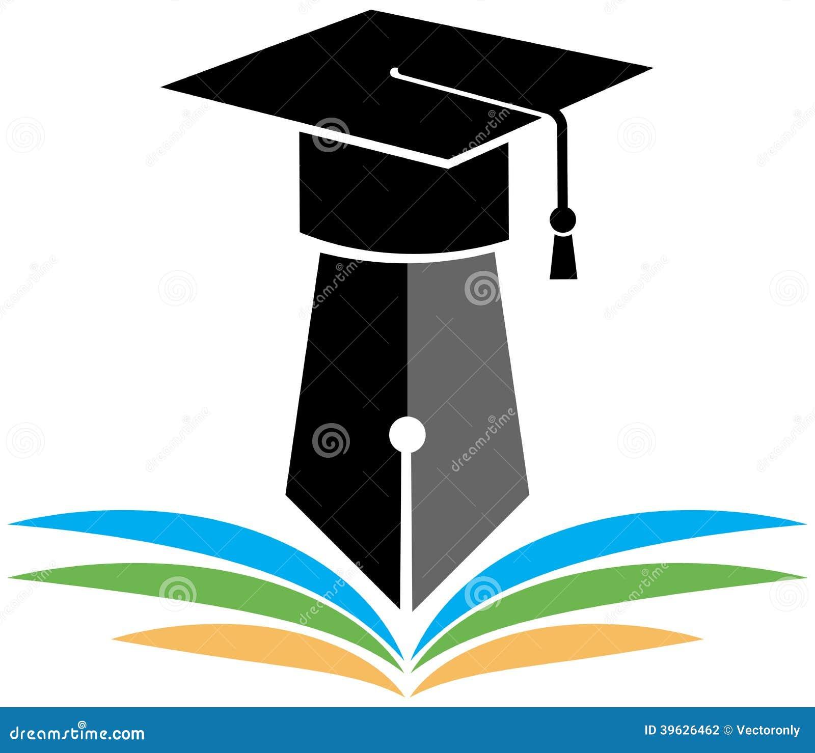 Graduation Logo Stock Vector  Image: 39626462