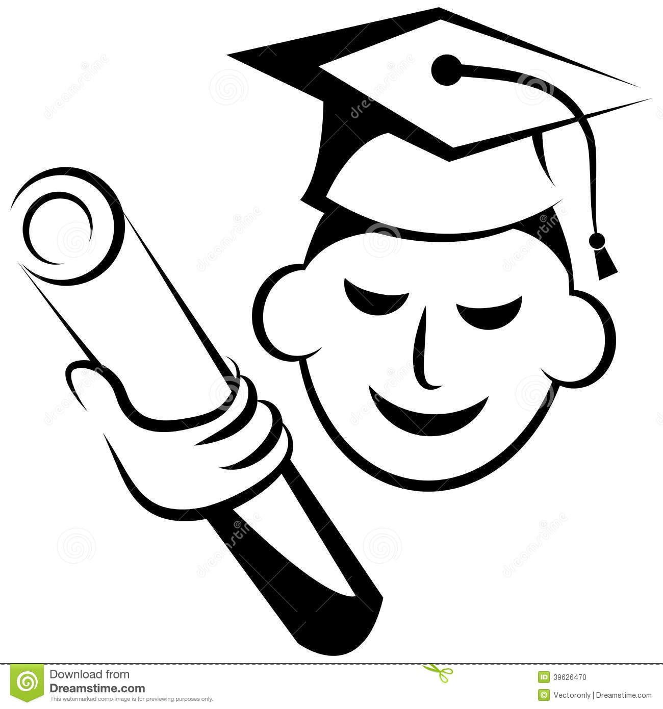 Graduation Logo Stock Vector  Image: 39626470