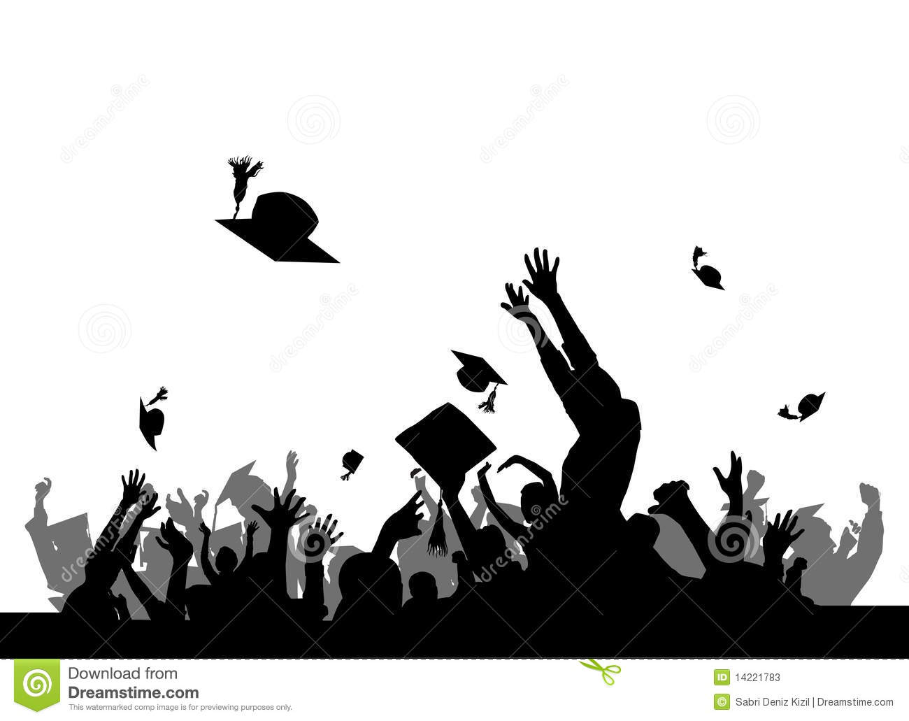 Graduation Party Stock Vector Illustration Of Masters