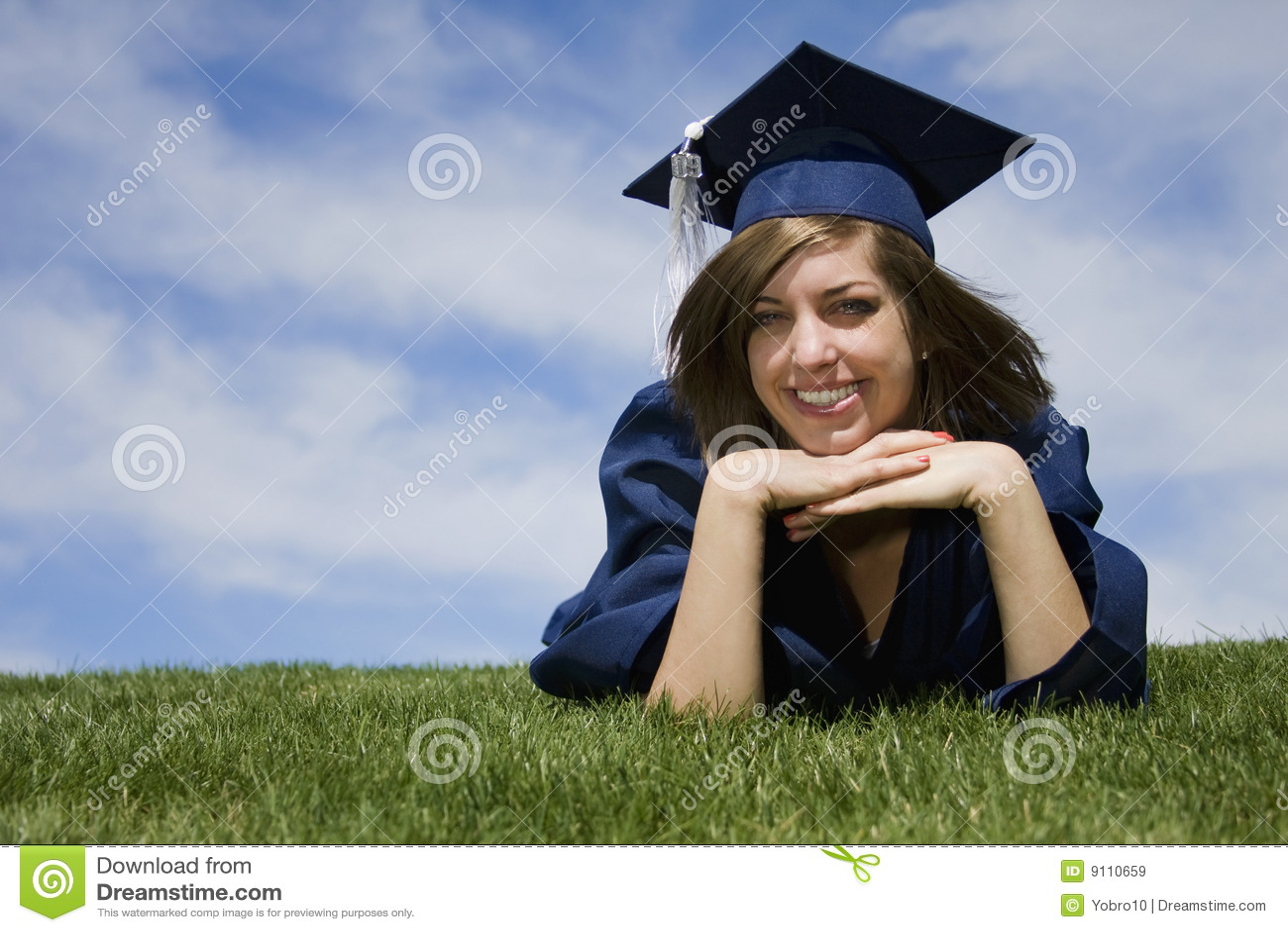 Graduation Portrait Royalty Free Stock Images Image 9110659