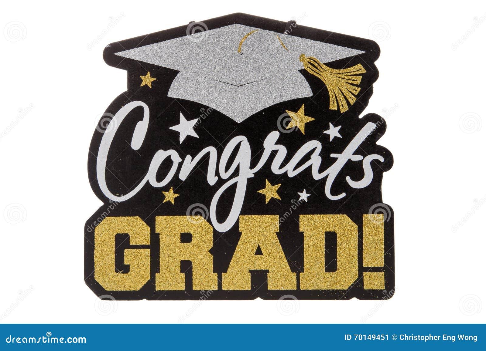 graduation sign stock image image of graduate achievement 70149451