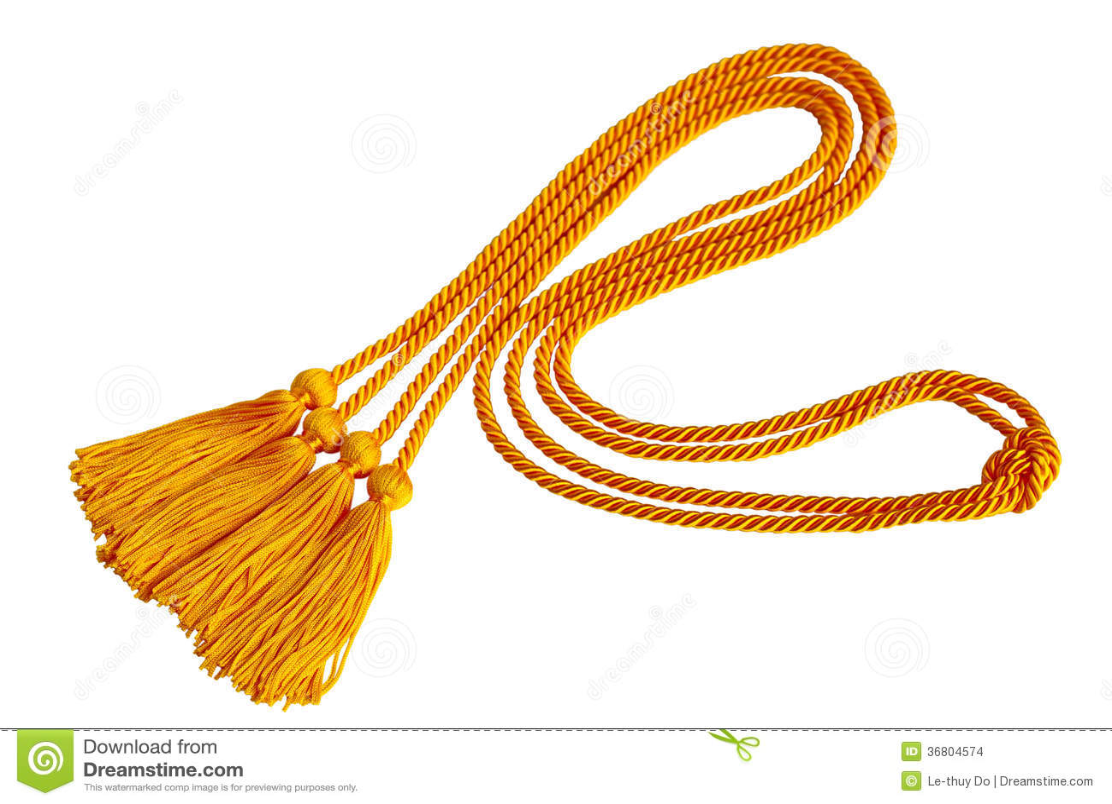Gradution cord