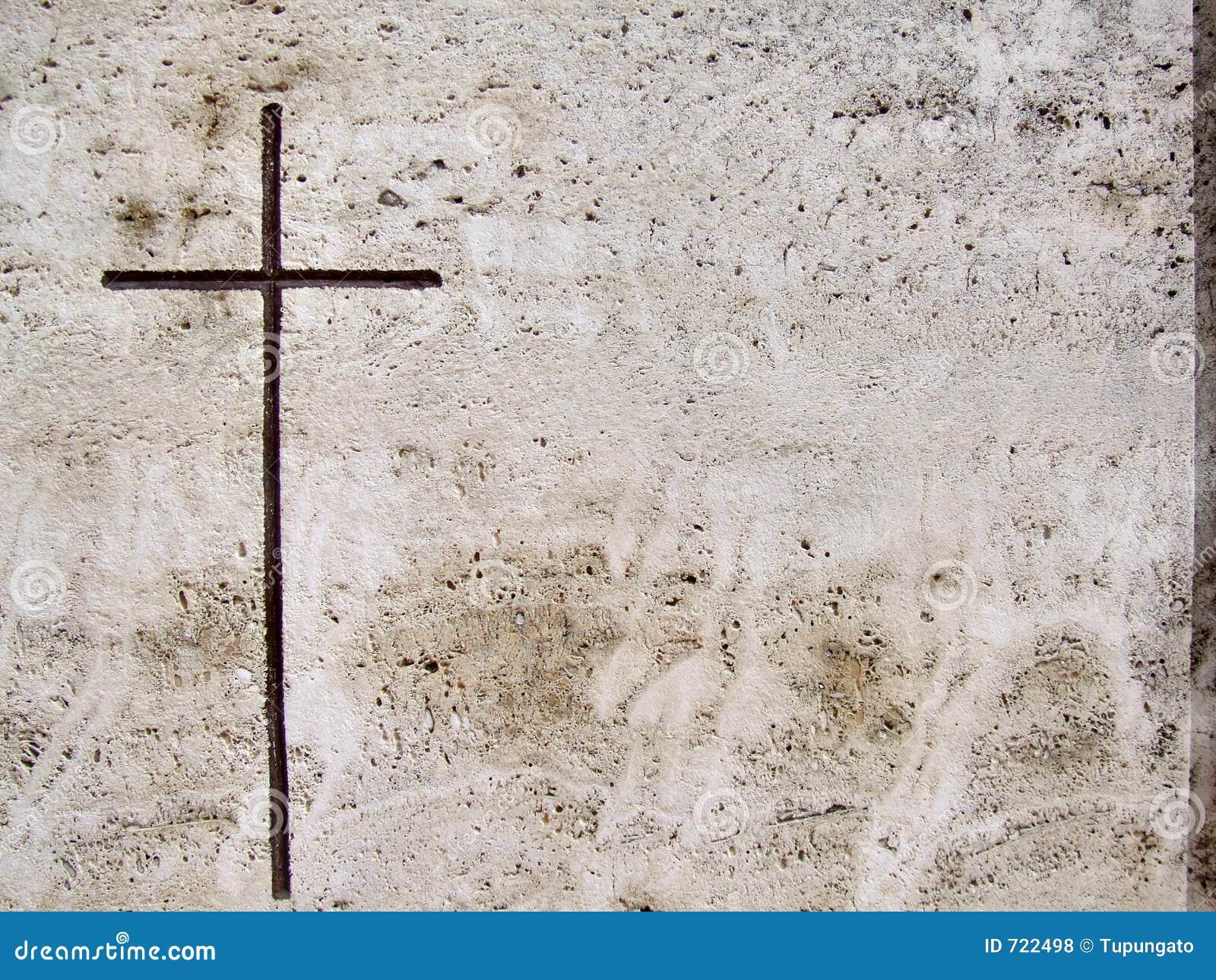Graf van de steen graveerde kruis royalty vrije stock foto 39 s afbeelding 722498 - Geloof pierre ...