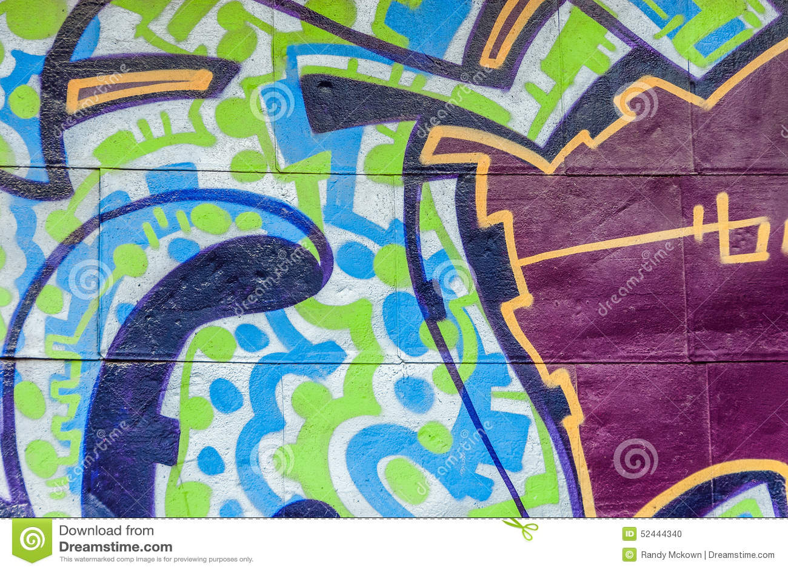 Graffiti ściana