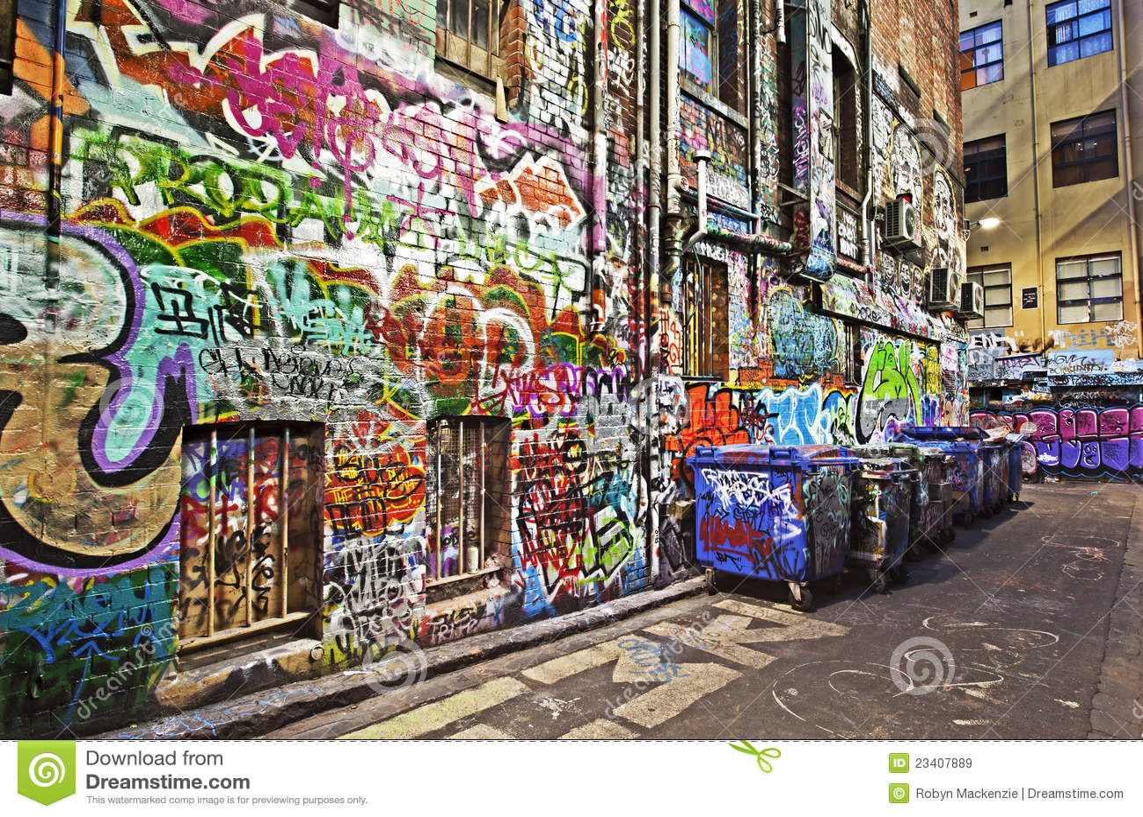 graffiti stockbild bild von m llcontainer melbourne. Black Bedroom Furniture Sets. Home Design Ideas