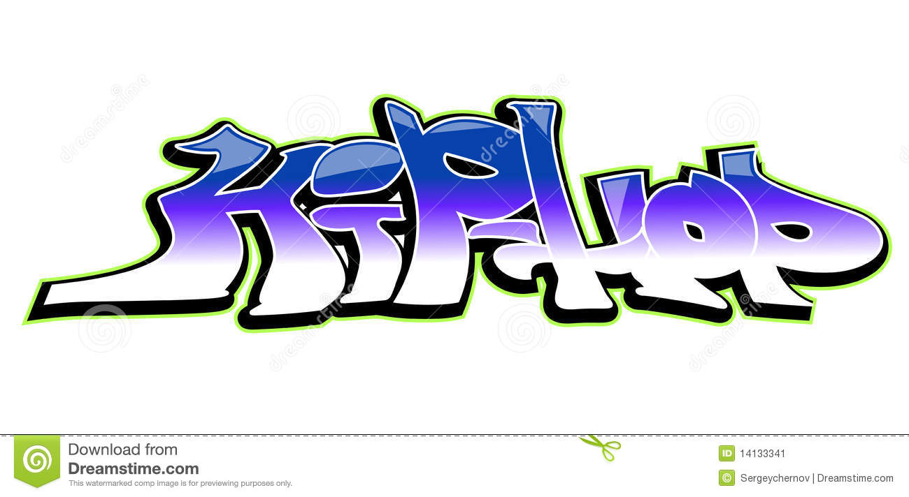 Graffiti Art Design Hip Hop Background Cool