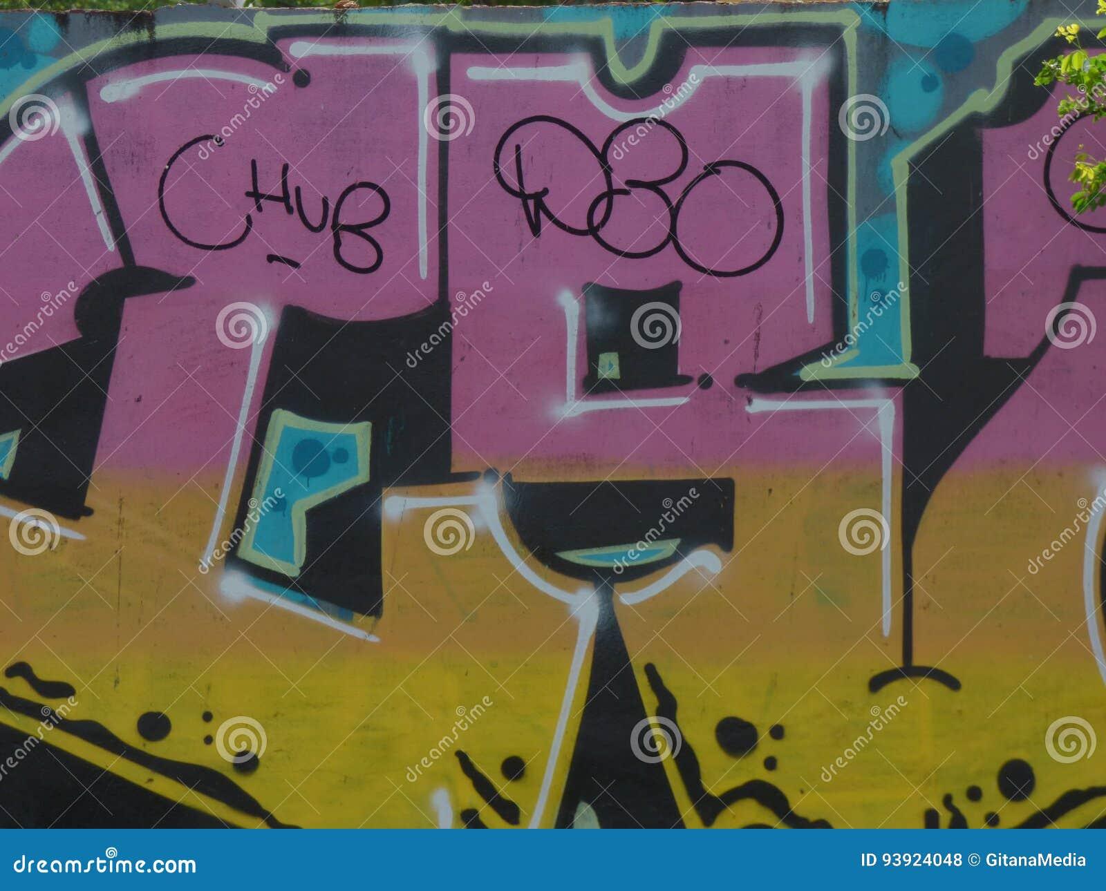 Graffiti Art, Wall in San Juan, Puerto Rico