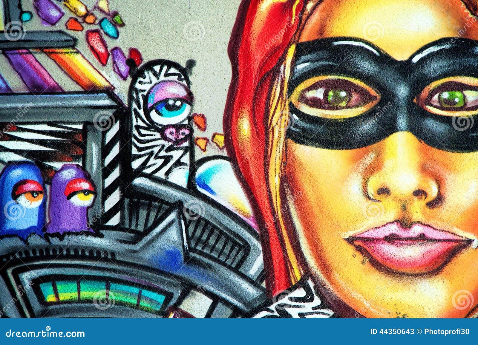 Graffiti - arte della via