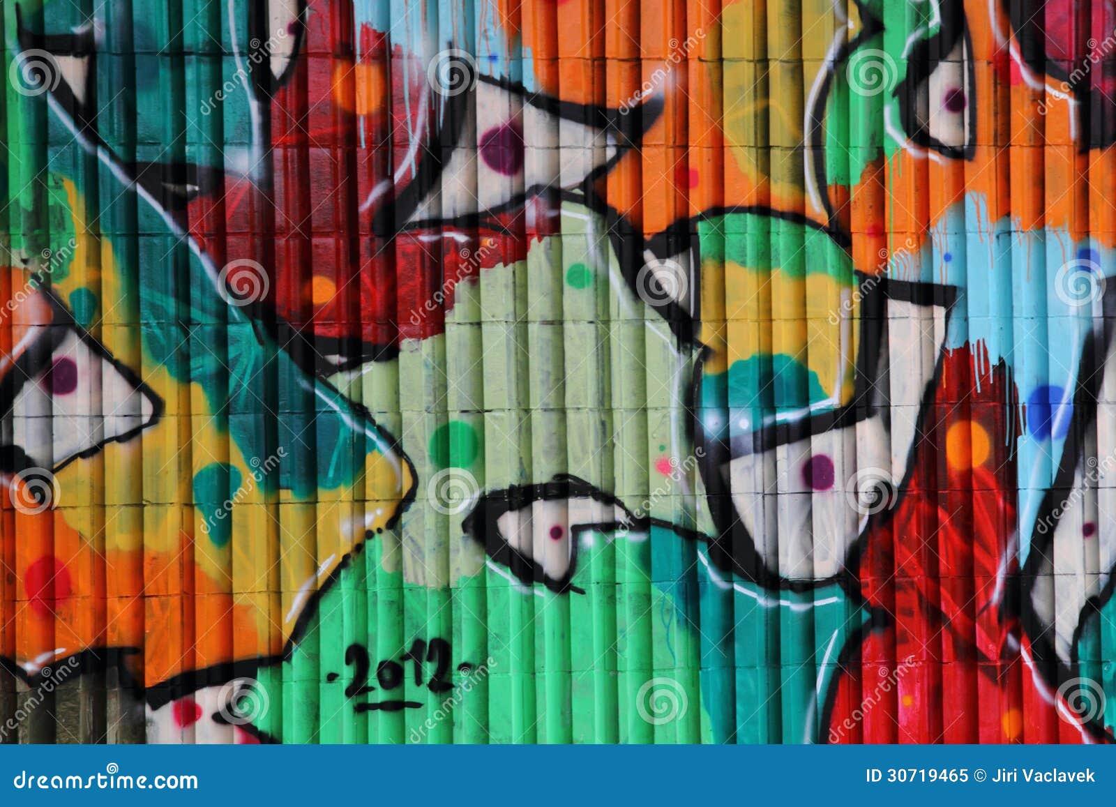 Graffiti art background - Art Background Color Graffiti