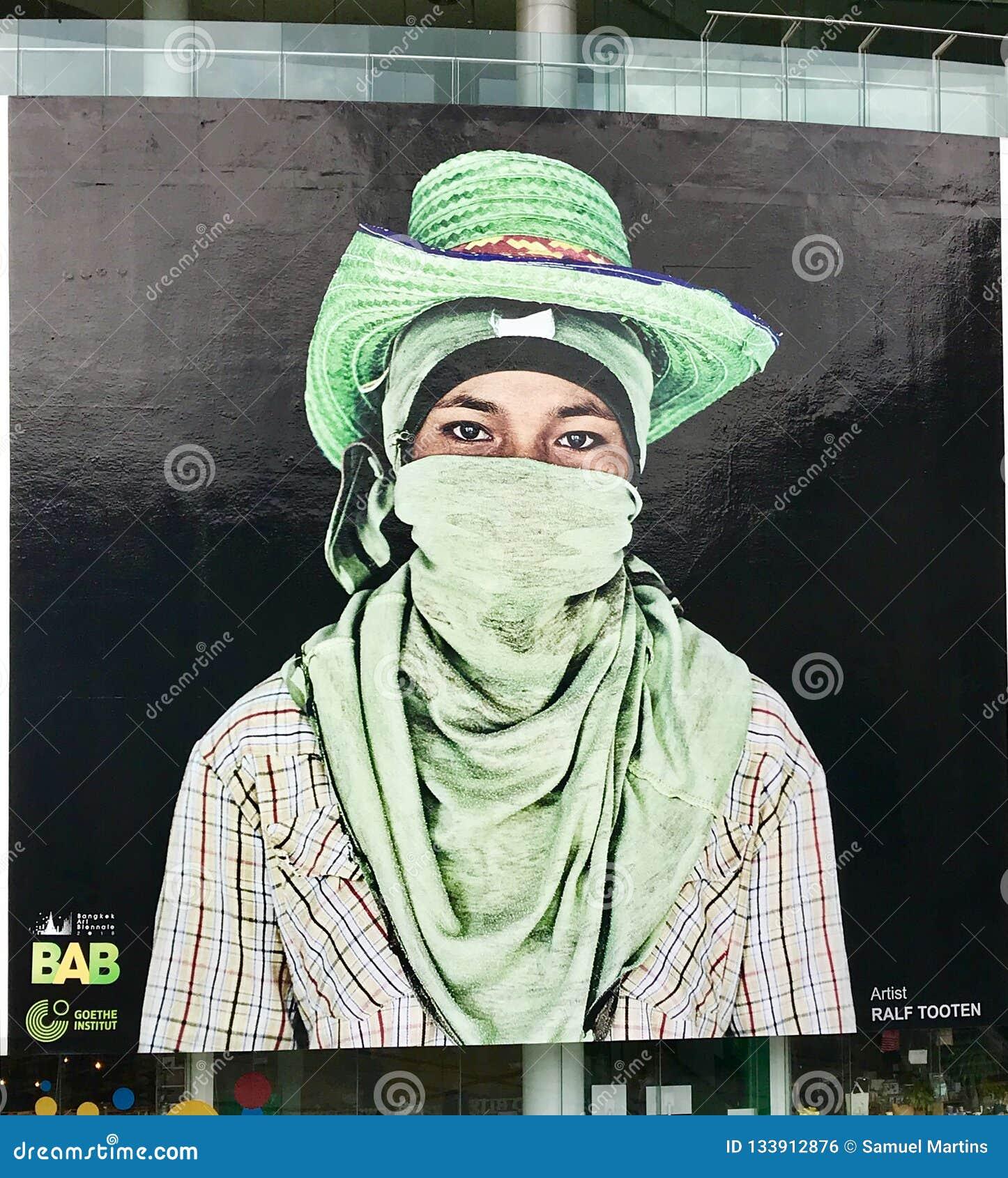 Graffiti in Bangkok, Thailand