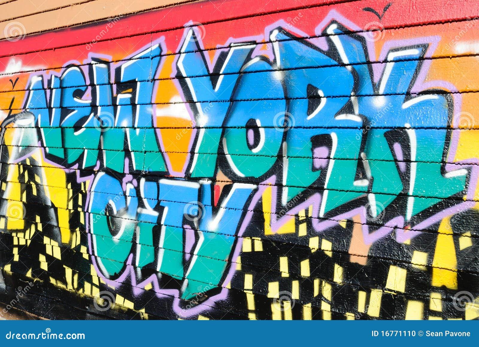 Graffiti bij Vijf Pointz