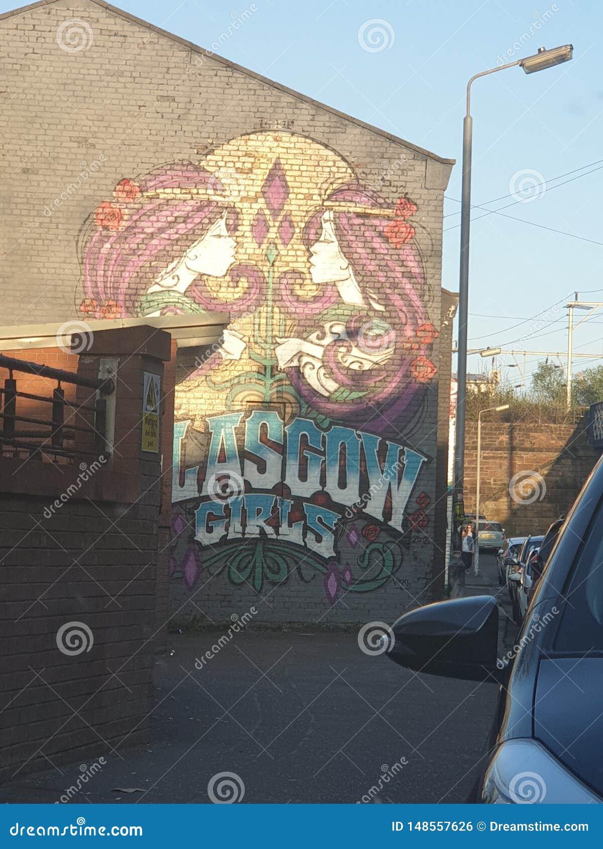 Graffiti de rue de Glasgow