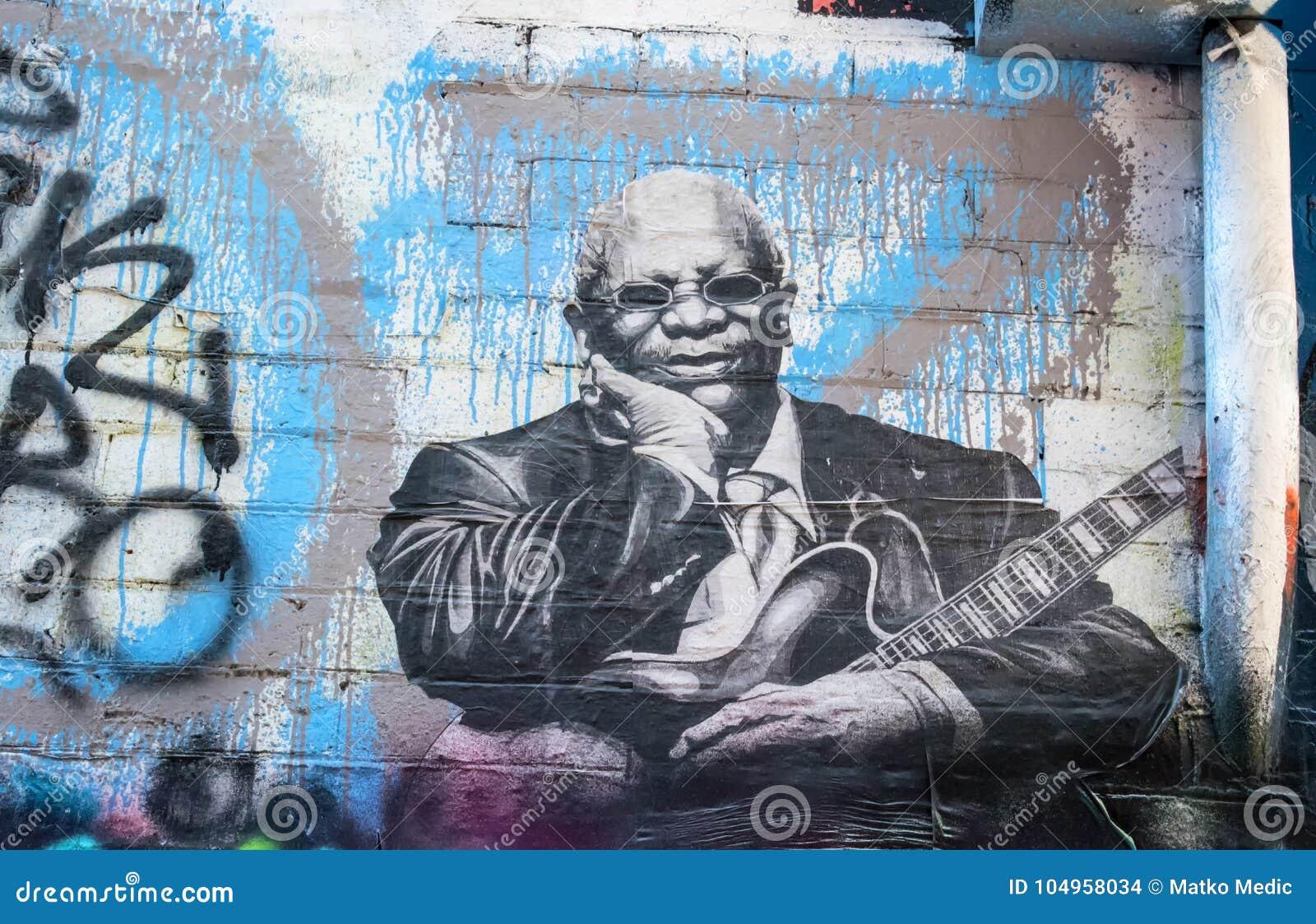 Graffiti di re di BB