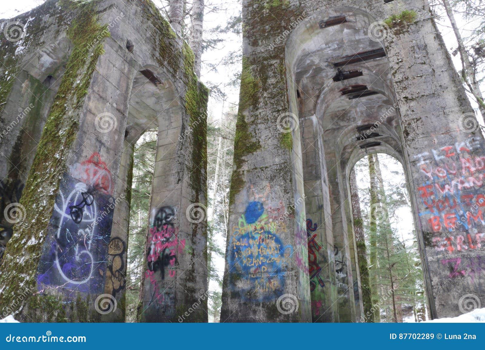 Graffiti et arbres