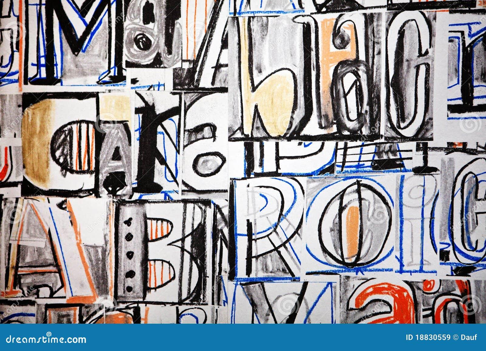 Graffiti ostry list