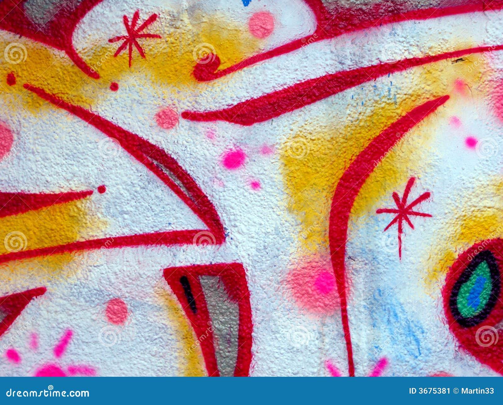 Download Graffiti, Praga illustrazione di stock. Illustrazione di background - 3675381