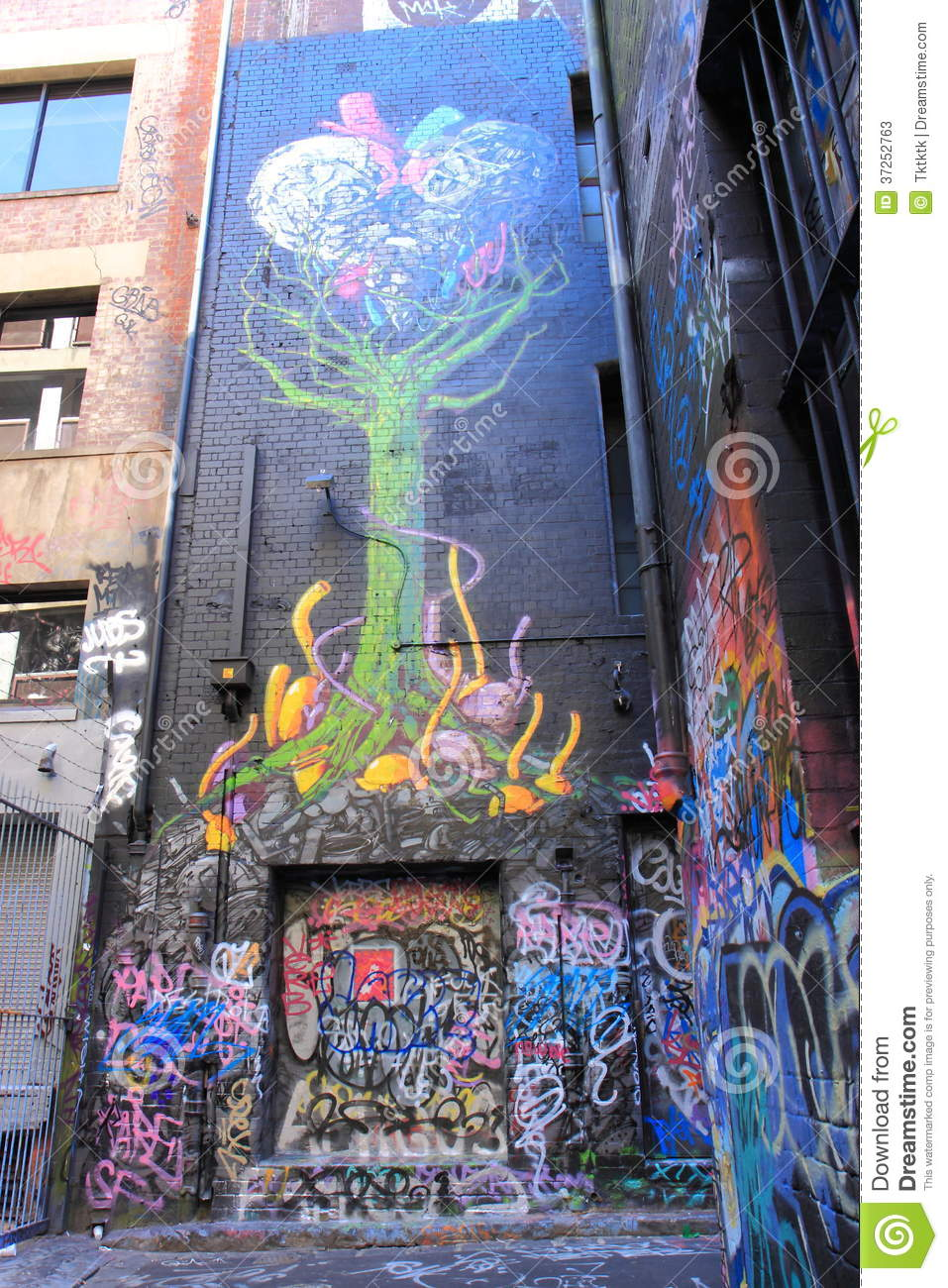 Graffiti art for sale melbourne - Art Famous Graffiti Hoiser Lane Melbourne