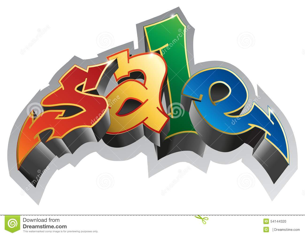 Graffiti art sale - Royalty Free Vector Download Graffiti Style Sale Graffiti