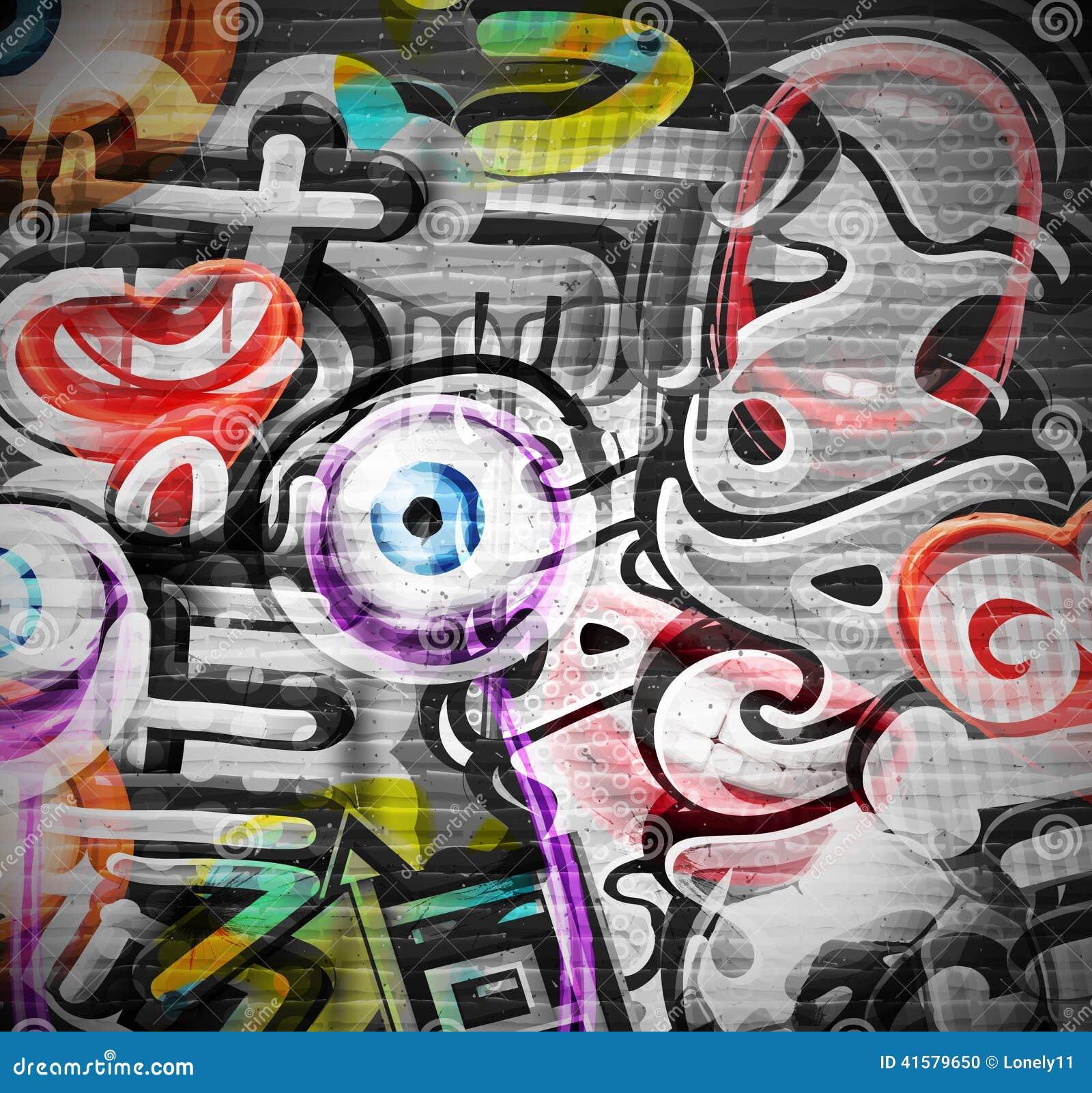 Graffiti tło