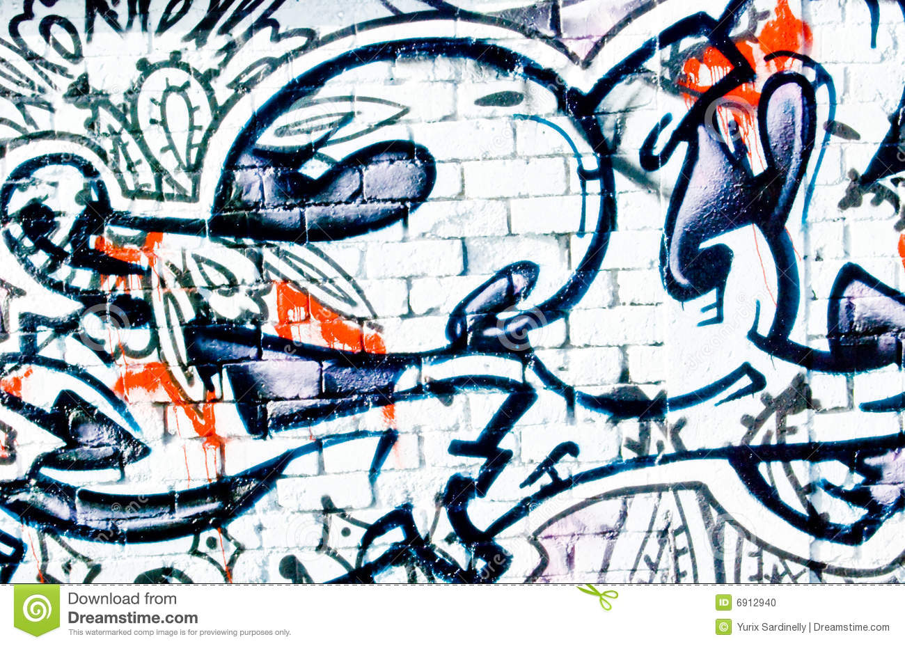 brick wall graffiti graffiti textured brick wall stock photo image 6912940 180