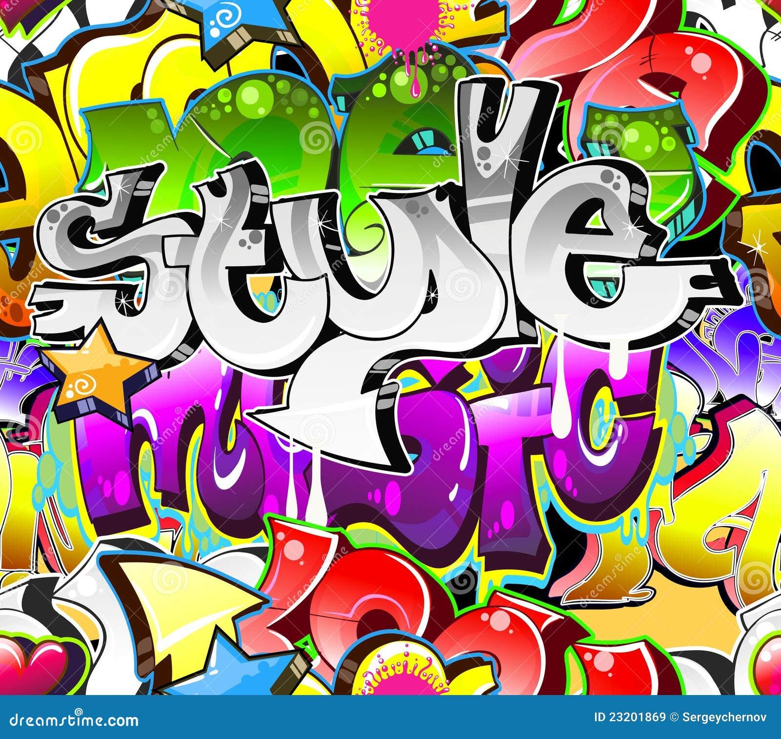 Graffiti art background - Art Background Graffiti