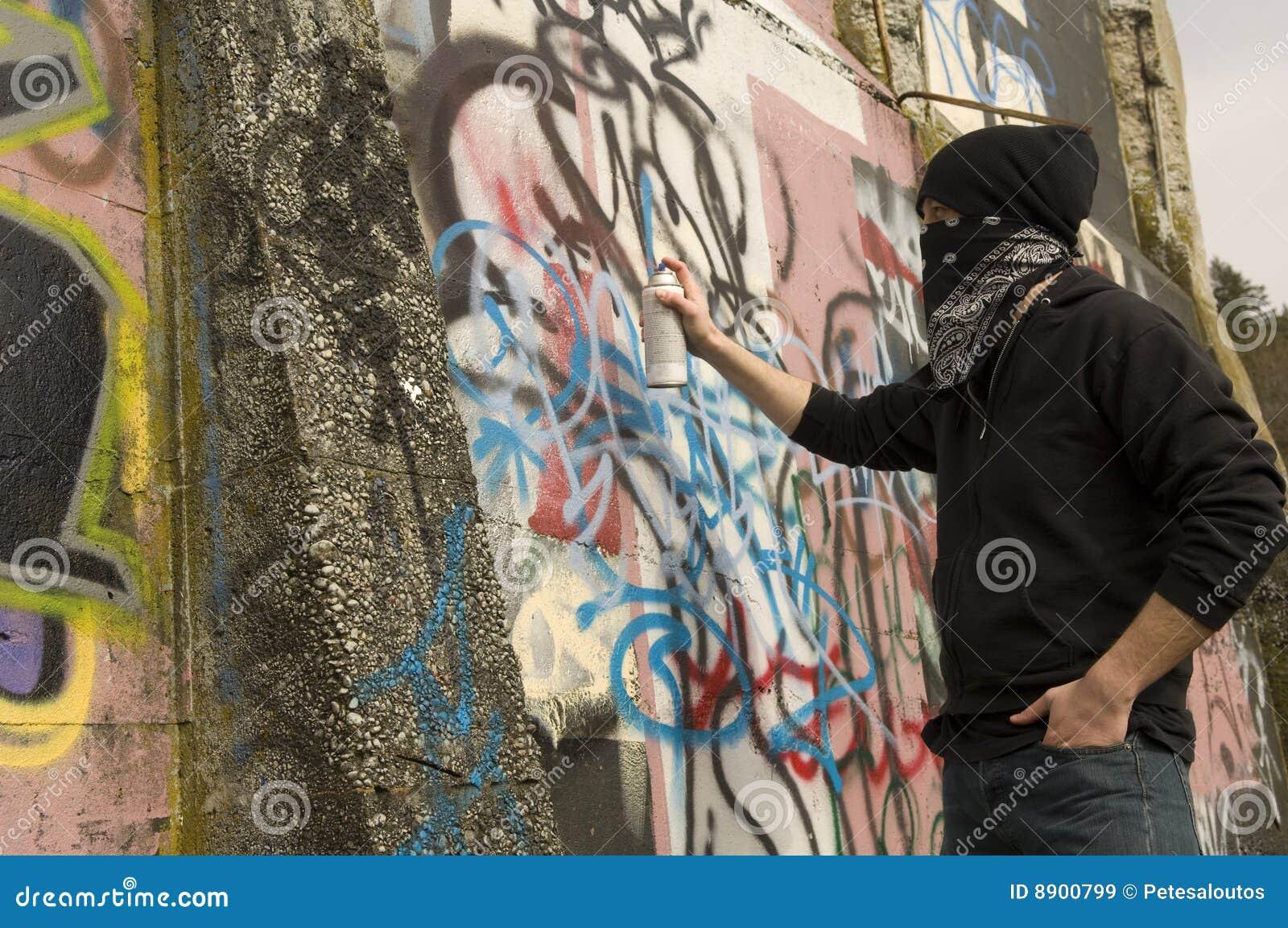 Graffiti vandal