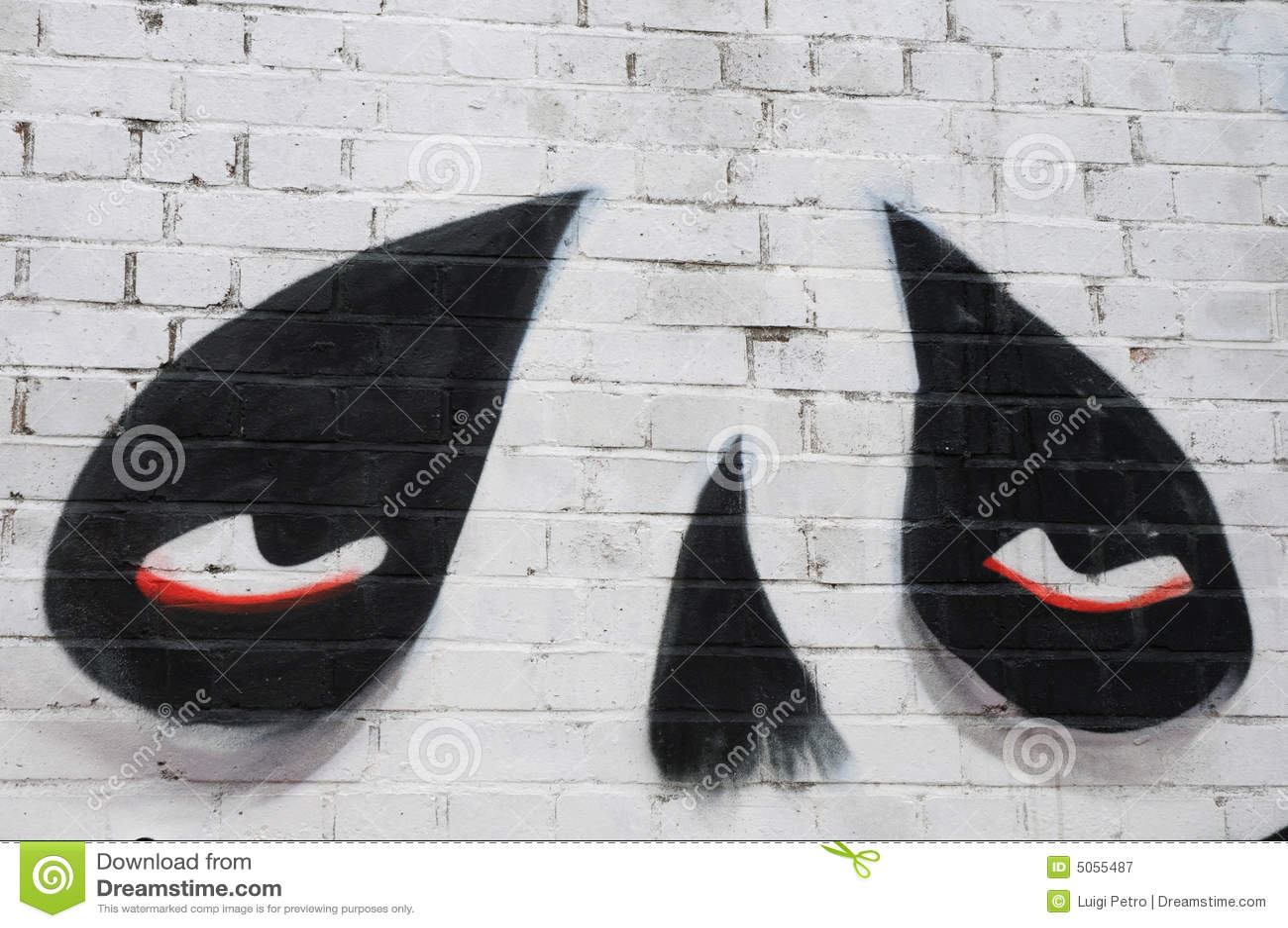 Graffiti in via di Sclater, Londra