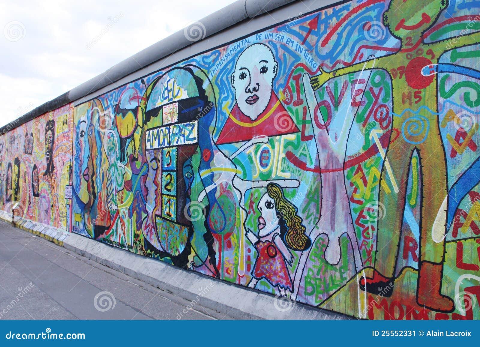 Graffiti wall austin - Editorial Stock Photo