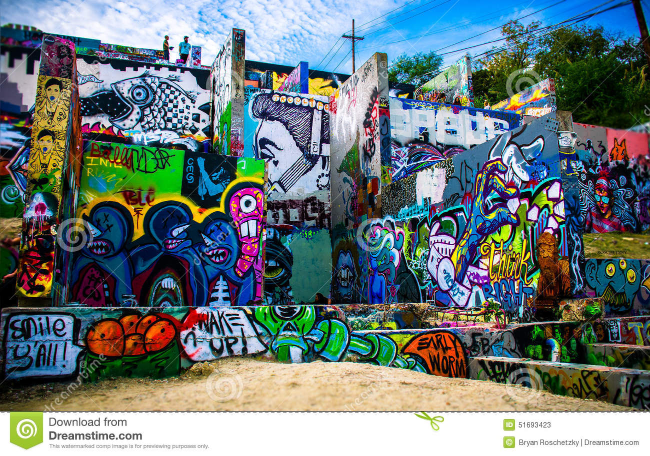 Austin Spray Paint Park