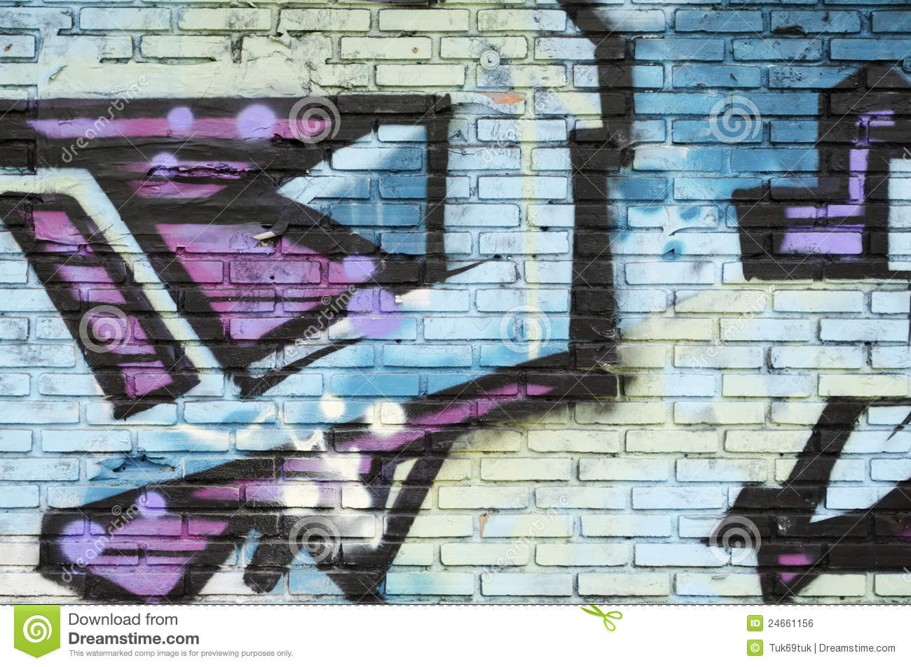 Grafitti wall background - Abstract Background Graffiti Wall