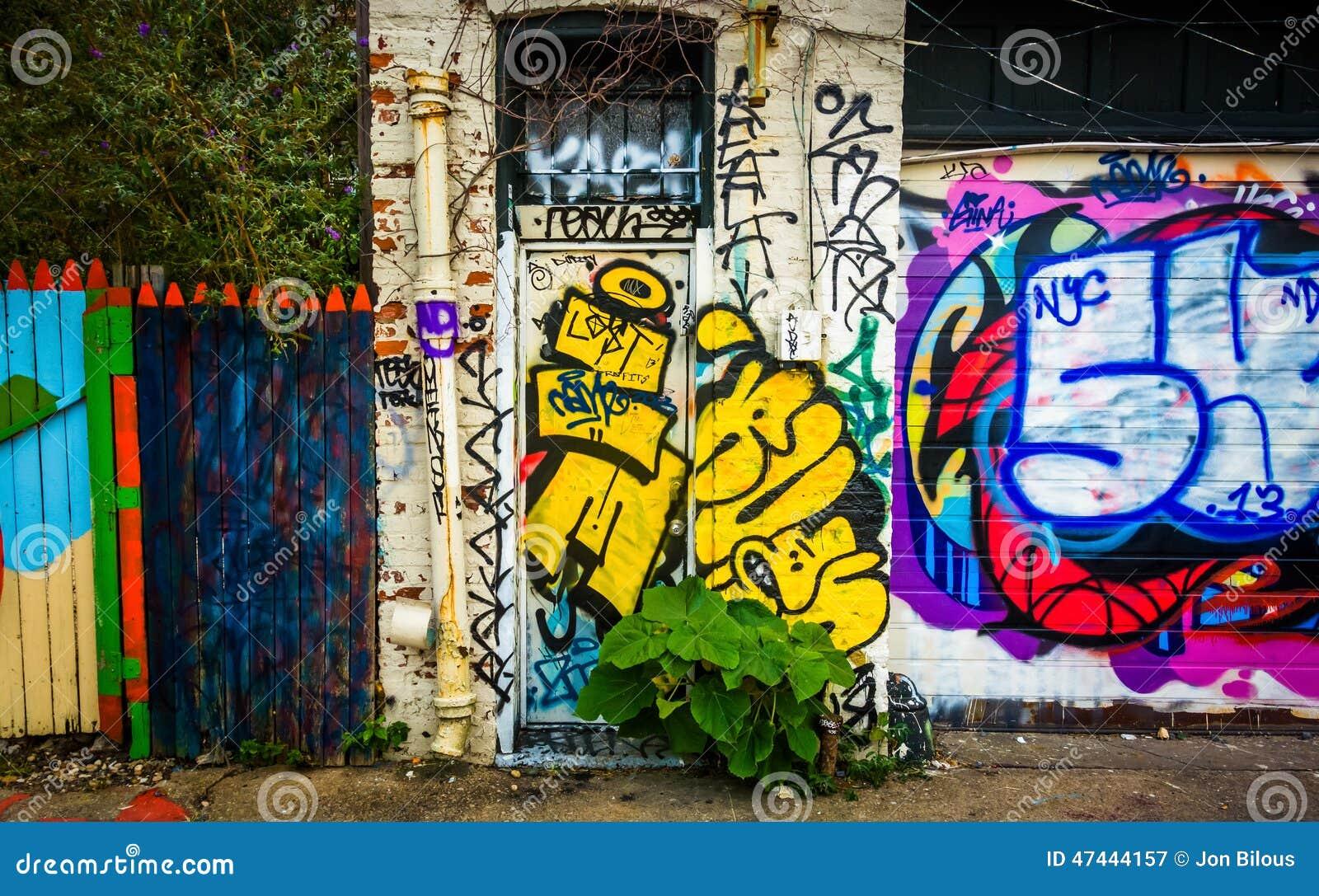 Graffiti wall baltimore - Baltimore Graffiti Maryland Wall