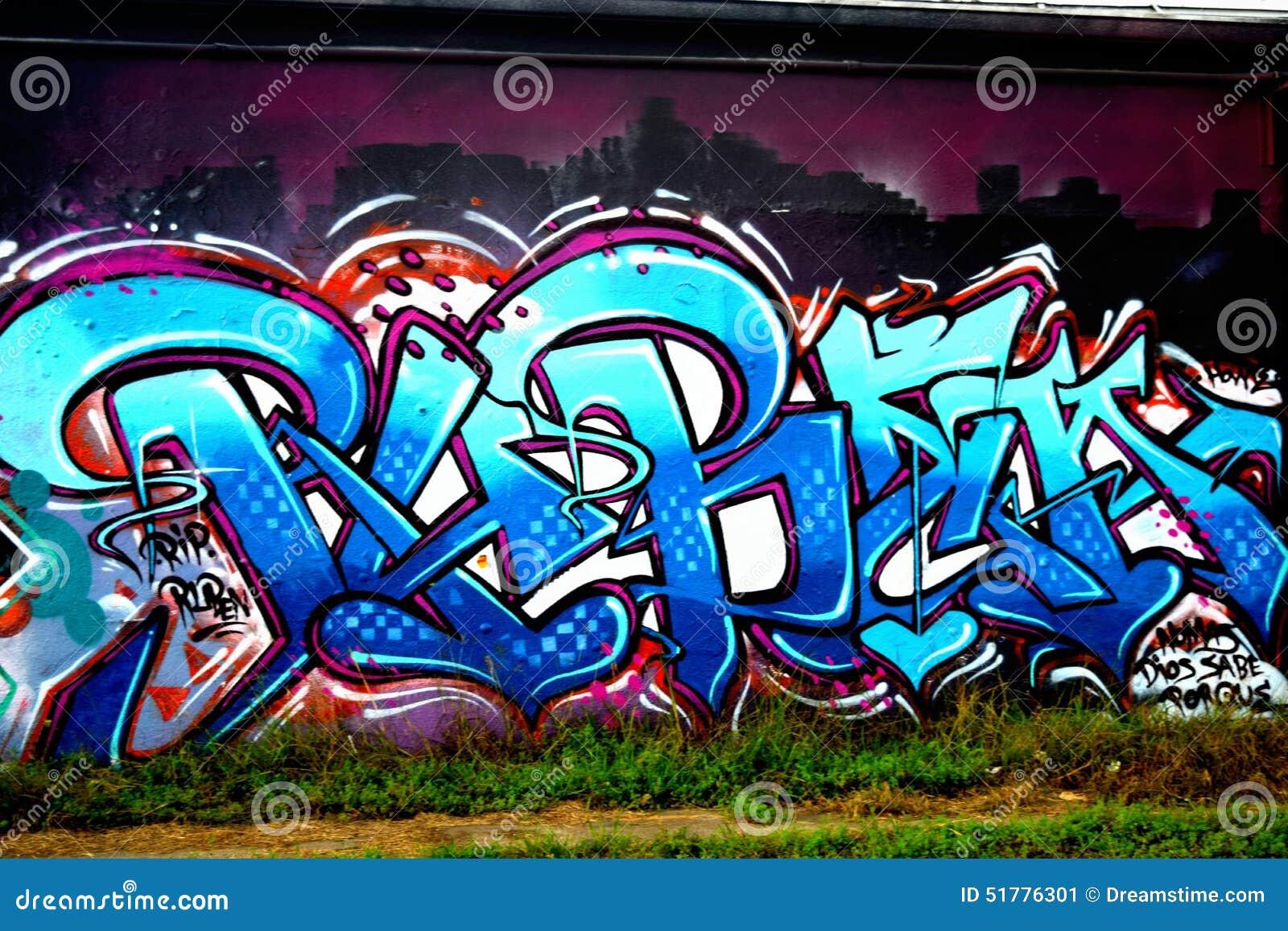 Graffiti wall dallas - Graffiti Wall Downtown Houston Tx 3 Stock Image