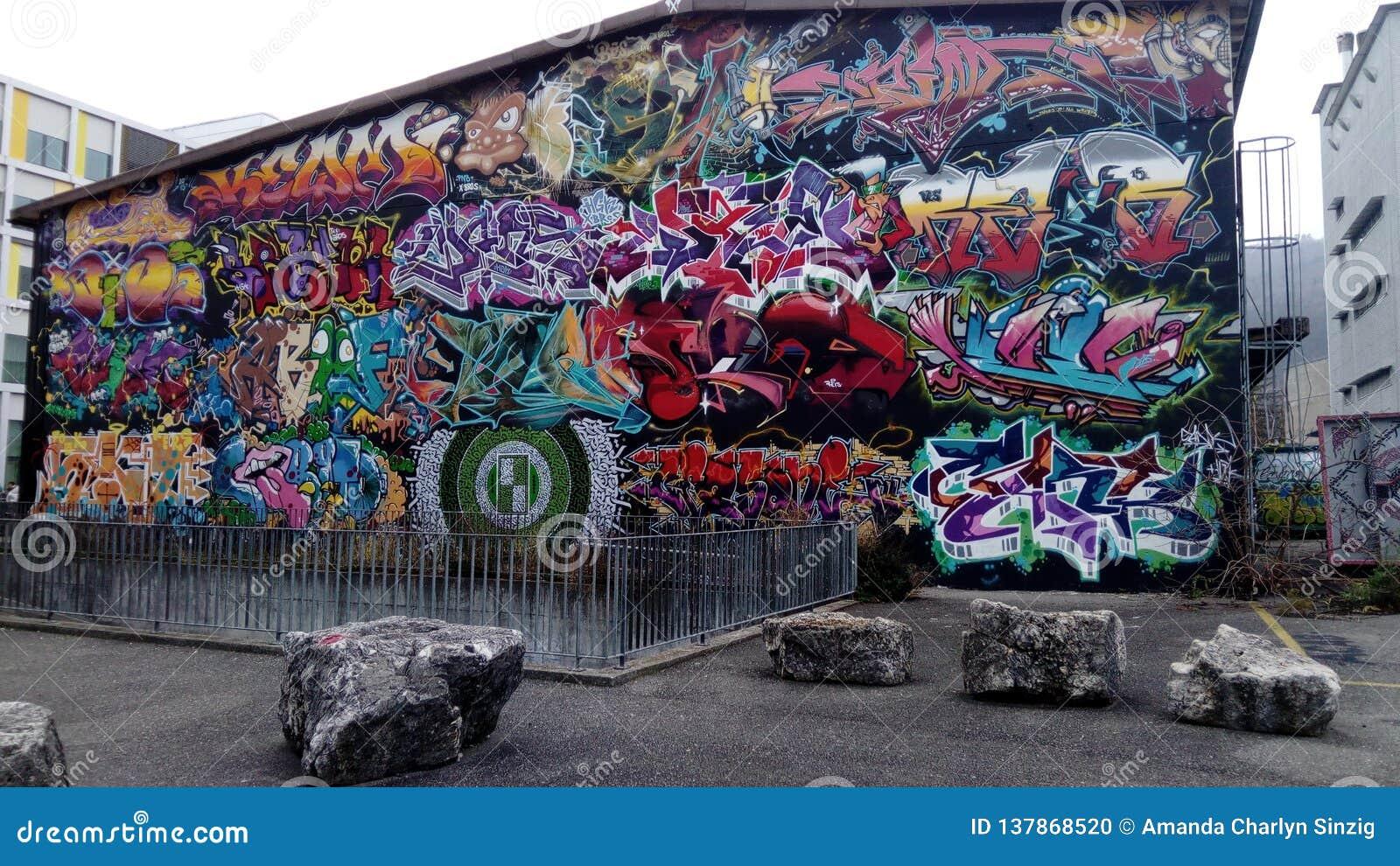 Graffiti wall x project biel bienne