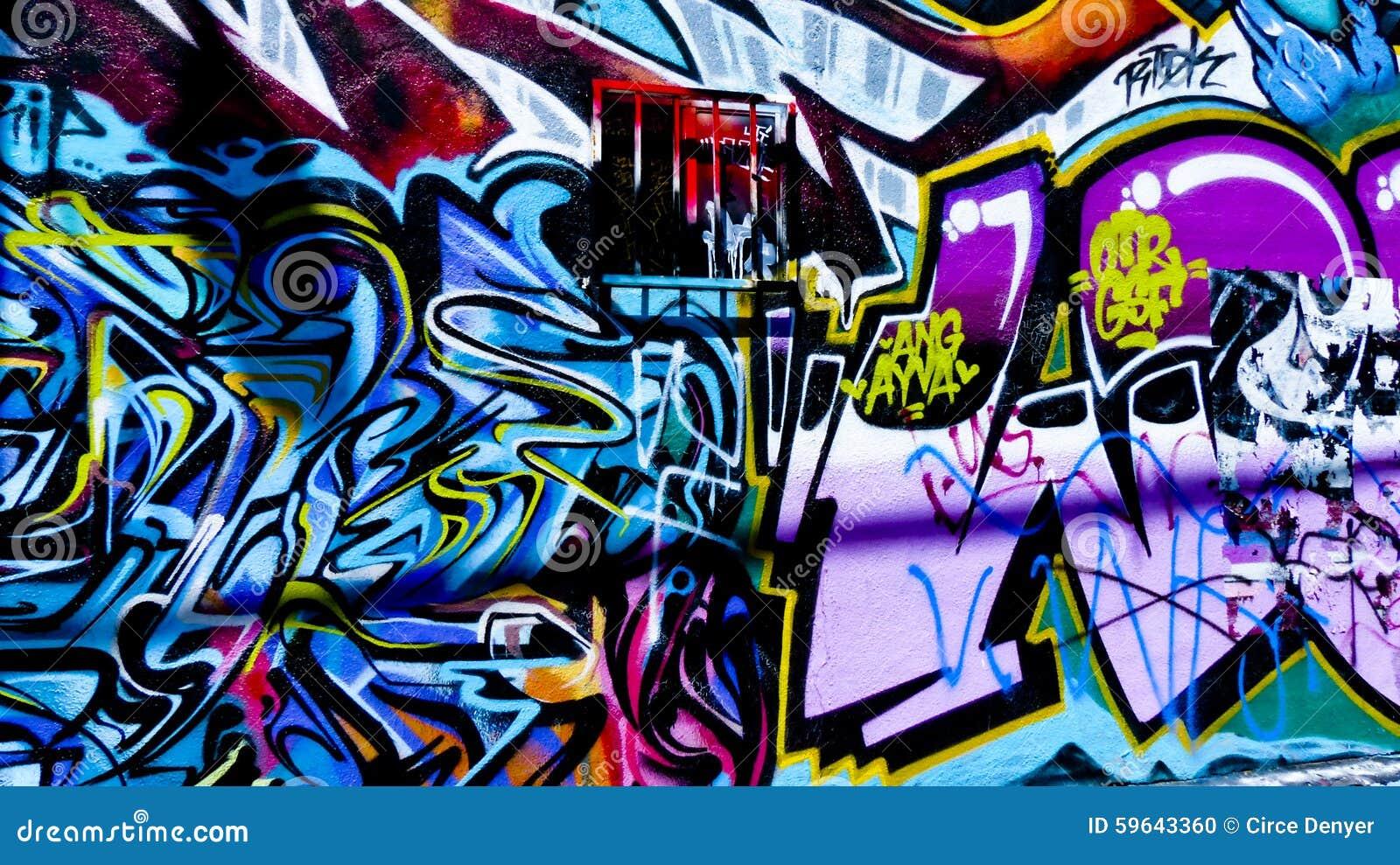 Graffiti wall black - Graffiti Wall