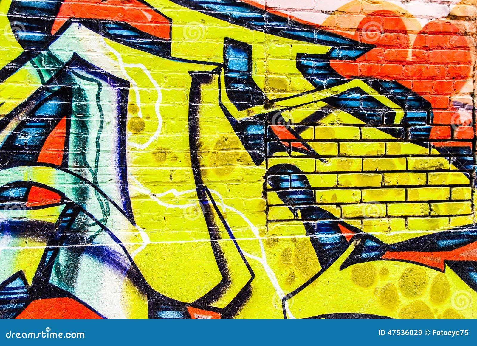 Graffiti Wall editorial stock image. Image of vandalism - 47536029