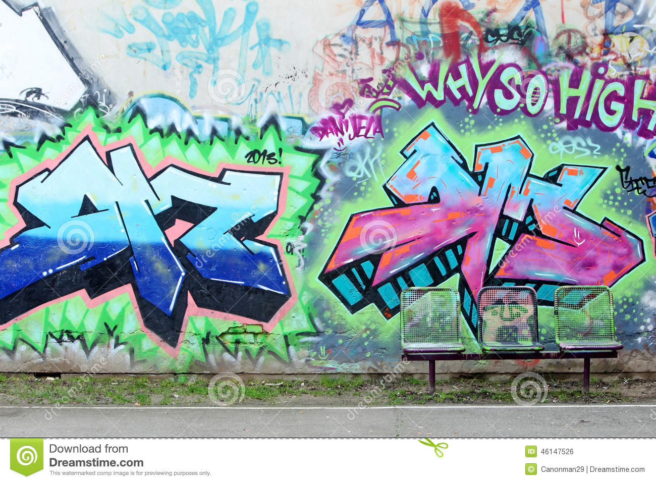 Graffiti wall zagreb - Editorial Stock Photo Download Graffiti Wall